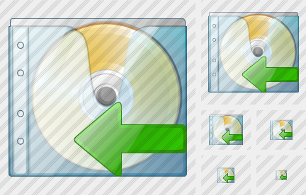CD Box Import Icon