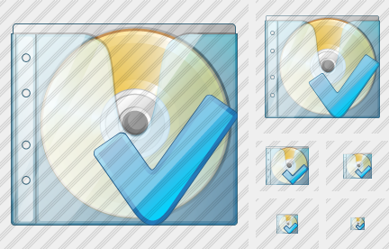 CD Box Ok Icon