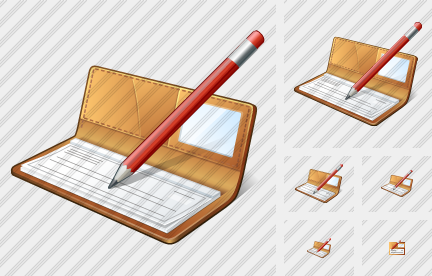 Check Book Edit Icon