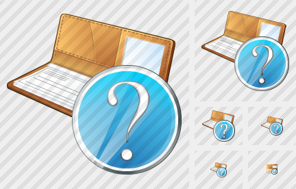 Check Book Question Icon