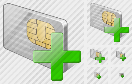 Chip Card Add Icon