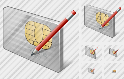Chip Card Edit Icon