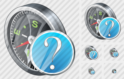 Compass Question Icon