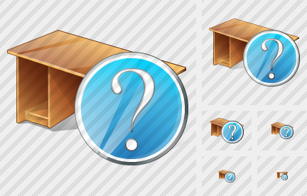 Computer Desktop Question Icon