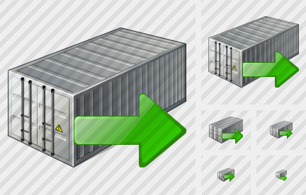 Container Export Icon