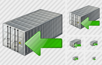 Container Import Icon