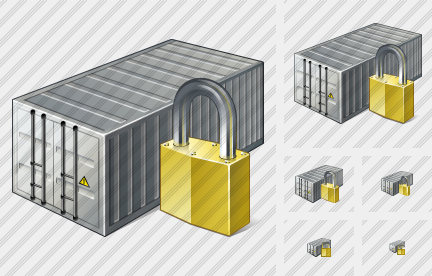 Container Locked Icon