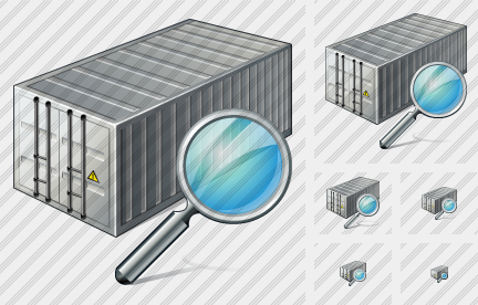 Container Search Icon
