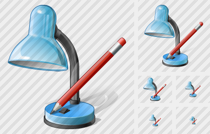 Desk Lamp Edit Icon