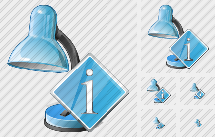 Desk Lamp Info Icon