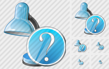 Desk Lamp Question Icon