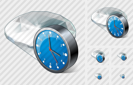 Icone Diamond Clock