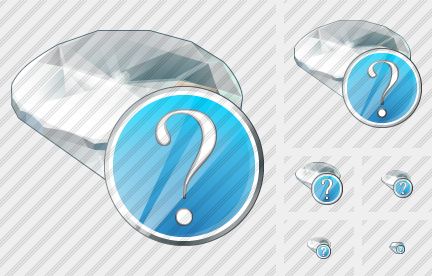 Diamond Question Icon