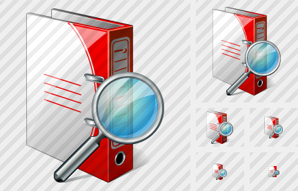 Doc Folder Search Icon