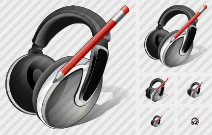 Ear Phone Edit Icon
