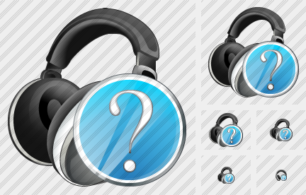 Ear Phone Question Icon