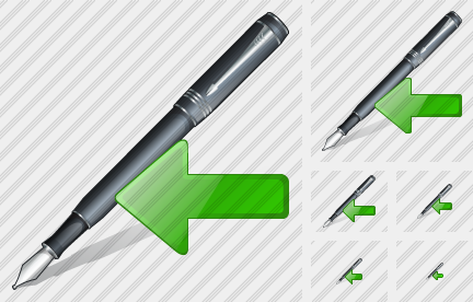 Feather Pen Import Icon