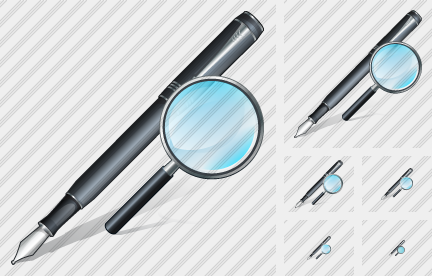 Feather Pen Search 2 Icon