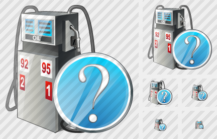 Gaz Station Question Icon