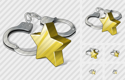 Handcuffs Favorite Icon
