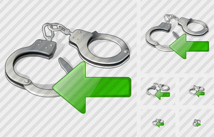Handcuffs Import Icon