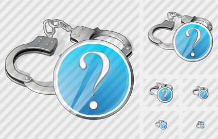 Handcuffs Question Icon