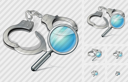 Handcuffs Search Icon