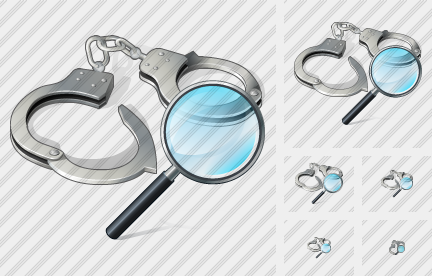 Handcuffs Search 2 Icon