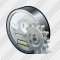 Power Meter Settings Icon