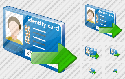 Index Card Export Icon