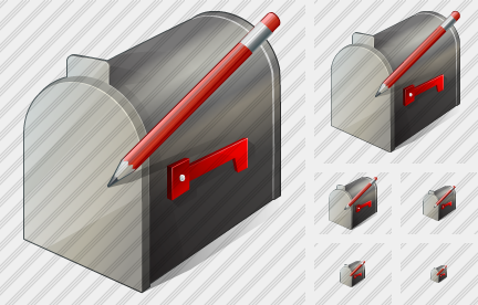 Mail Box Edit Icon