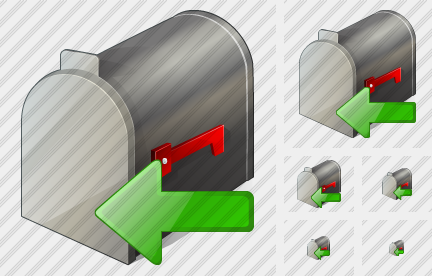 Mail Box Import Icon
