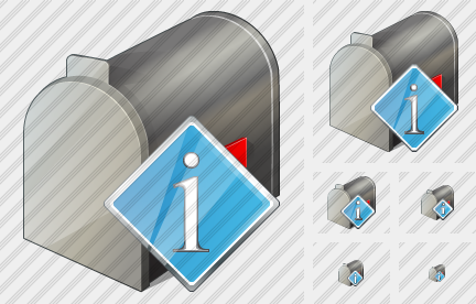 Mail Box Info Icon
