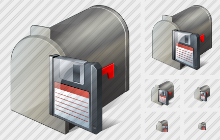Mail Box Save Icon