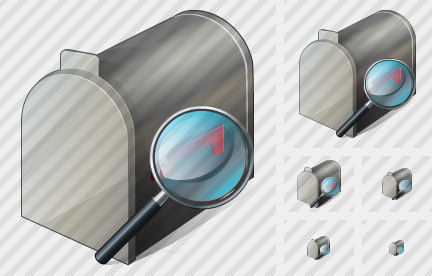 Mail Box Search 2 Icon