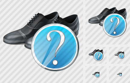 Mans Shoes Question Icon
