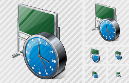 Office Board Clock Icon