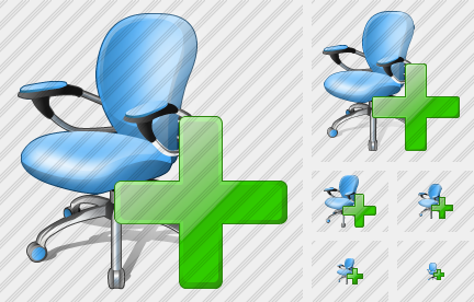Office Chair Add Icon