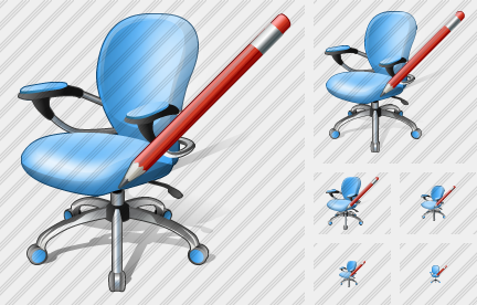 Office Chair Edit Icon