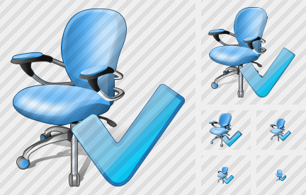 Office Chair Ok Icon