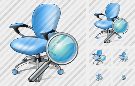 Office Chair Search Icon