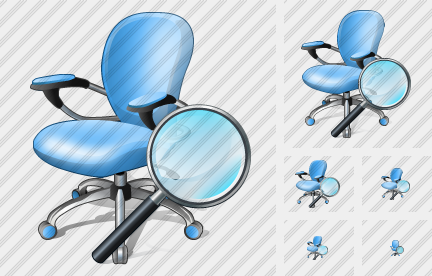Office Chair Search 2 Icon