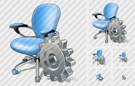Office Chair Settings Icon