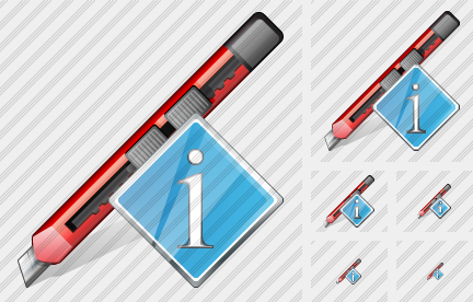 Office Knife Info Icon
