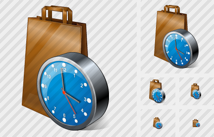 Package Clock Icon