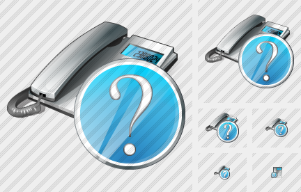 Phone Question Icon