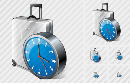 Icone Road Bag Clock