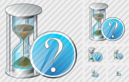 Sand Glass Question Icon
