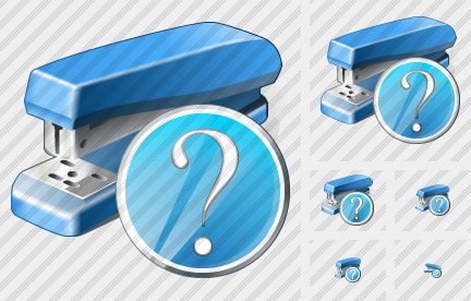 Stapler Question Icon