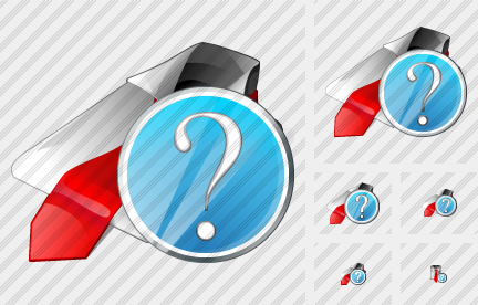 Tie Question Icon